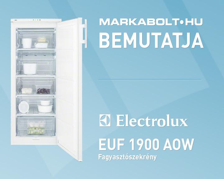Electrolux euf 1900 aow fagyasztószekrény