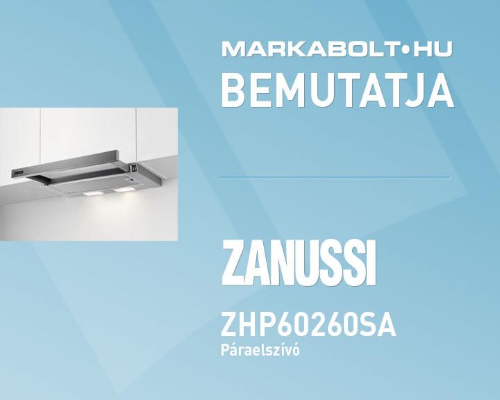 Zanussi ZHP60260SA páraelszívó    Zanussi 60 cm széles páraelszívó    AEG 0bb4c4aea7