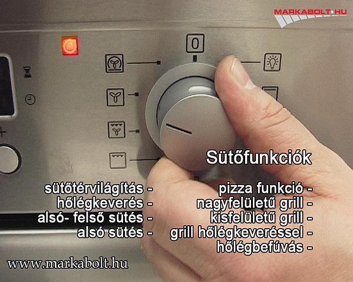 Electrolux sütő használati utasítás
