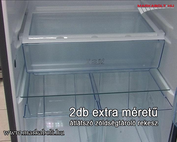 Fantastyczny Electrolux ERB 36033 X, alulfagyasztós kombinált hűtőszekrény DB68